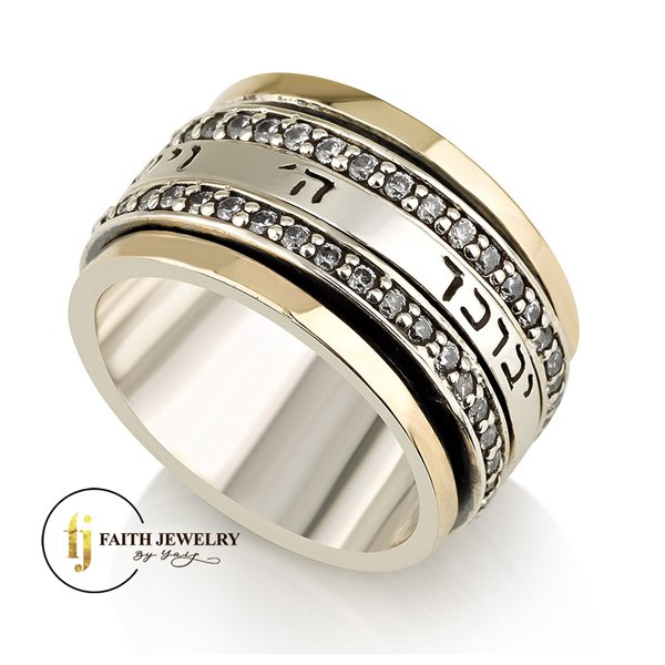 Silver Combined Gold - Rings