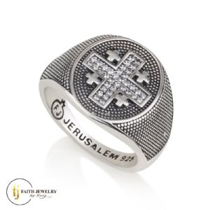 Jerusalem Cross - Rings