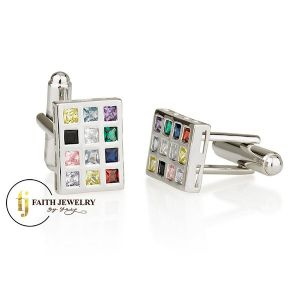 Choshen - Twelve Tribes - cufflinks