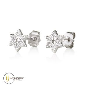 Star of David - Earrings